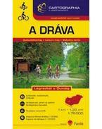 Dráva szabadidő térkép 1:75.000