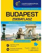 Budapest zsebatlasz 1:25 000