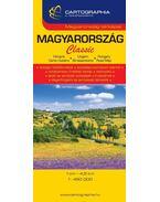 Magyarország Classic autótérkép