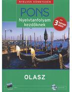 PONS NYELVTANFOLYAM KEZDŐKNEK - OLASZ - KÖNYV + 4 CD