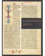 A Jordánszky-kódex I. kötet