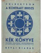 A kontrakt bridzs kék könyve