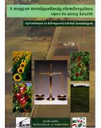 A magyar mezőgazdaság elemforgalma 1901 és 2003 között