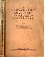 A magyar-német művelődési kapcsolatok története