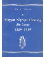 A Magyar Néprajzi Társaság története 1889-1989