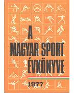 A magyar sport évkönyve 1977