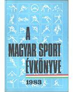 A magyar sport évkönyve 1983