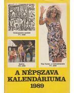 A Népszava kalendáriuma 1989