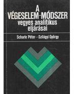 A végeselem-módszer vegyes analitikus eljárásai - Dr. Scharle Péter, Szilágyi György