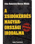 A zsidókérdés magyarországi irodalma