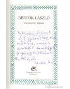 Bertók László  - Válogatott versek (dedikált)