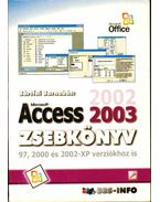 Access 2003 zsebkönyv