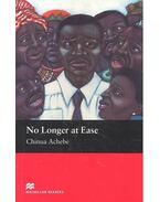 No Longer at Ease - Level 5 - Intermediate - Achebe, Chinua