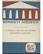 A Somogy megyei múzeumok régészeti adattára