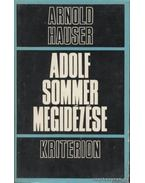 Adolf Sommer megidézése