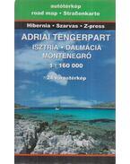 Adriai tengerpart (1: 160 000)