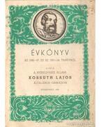 Évkönyv az 1956-57. és az 1957-58. tanévről - Adriányi László