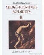 A filozófia története és elmélete II.