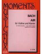 Air (BWV 1068/II) (Hegedű és zongora)