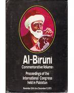 Al-Biruni: Commemorative Volume