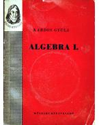 Algebra I.