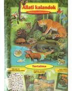 Állati kalandok - Matricás mesekönyvcsomag