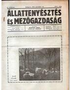 Állattenyésztés és mezőgazdaság II. évf. 20-21. szám