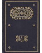 Keresztény magyar közéleti almanach I.-II. kötet, A - Z-ig