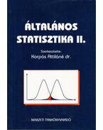 Általános statisztika II.