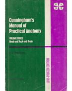 Cunningham's Manual of Practical Anatomy Vol. 3.