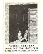 André Kertész magyarországi fényképei