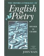 The Oxford Anthology of English Poetry vol. 1