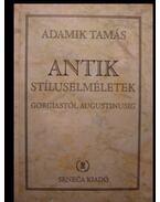 Antik stíluselméletek Gorgiastól Augustinusig