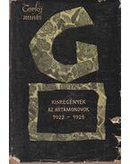 Kisregények - Az Artamonovok 1922-1925