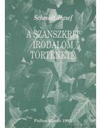 A szanszkrit irodalom története