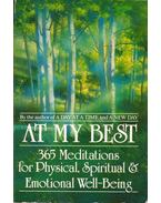 At My Best: 365 Meditations for Phisical, Spiritual and Emotional Well-Being