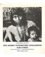 Ata Kando fotóművész kiállítása
