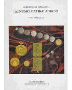 19. Numizmatikai aukció