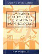 Az ember lehetséges fejlődésének pszichológiája