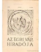Az Egri Vár híradója 1960. július 1. szám