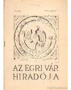 Az Egri Vár híradója 1961. január 2. szám