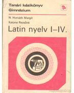 Latin nyelv I-IV.
