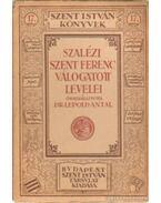 Szalézi Szent Ferenc válogatott levelei