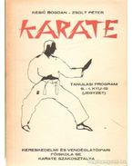Karate tanulási program 9. - 1. Kyu-ig (jegyzet)