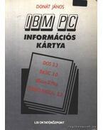 IBM PC Információs kártya