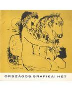 Országos Grafikai Hét - B. Supka Magdolna