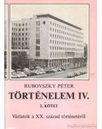 Történelem IV. 1-2. kötet