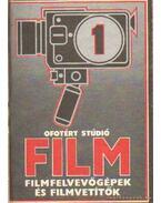 Ofotért stúdió film filmfelvevőgépek és filmvetítők 1.