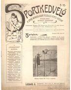 Sportkedvelő 1901./ 3. szám