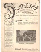 Sportkedvelő 1901./ 5. szám